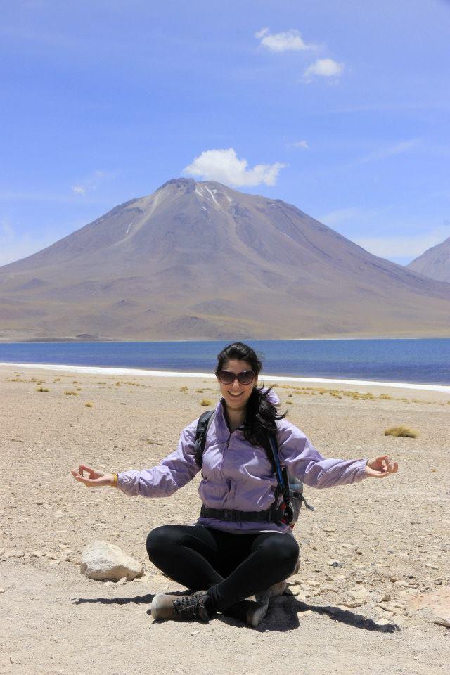 meditando no Atacama